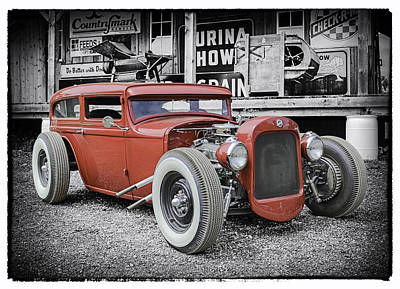 Street Rod Photograph - Classic Hot Rod by Thomas Young