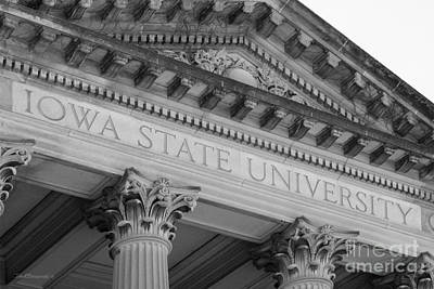 Honorarium Photograph - Classic Iowa State University by University Icons