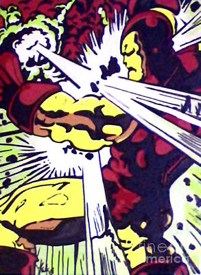 Classic Iron Man 1966 Art Print