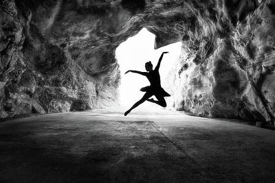 Cave Wall Art - Photograph - Classic Jump by Osher Partovi