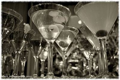 Martini Photograph - Classic Martini by Hollin Lange