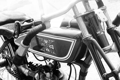 Photograph - Classic Motorcycle by Kelly Hazel