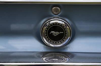 Classic Mustang Badge Art Print