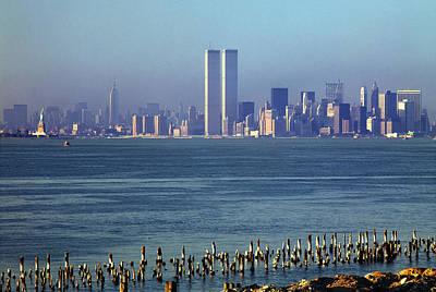 Classic New York Skyline 2 Art Print
