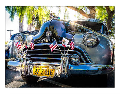 Art Print featuring the photograph Classic Oldsmobile by Steve Benefiel