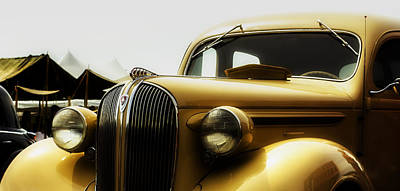 Plymouth Photograph - Classic Plymouth by Jorge Perez - BlueBeardImagery