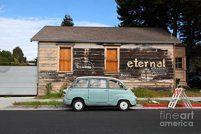 Photograph - Classic Retro Fiat 600 5d25272 by Wingsdomain Art and Photography