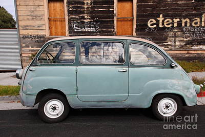 Photograph - Classic Retro Fiat 600 5d25277 by Wingsdomain Art and Photography