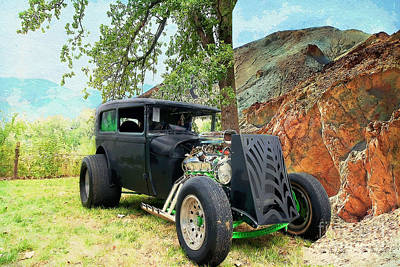 Art Print featuring the photograph Classic Rod by Liane Wright