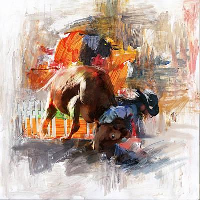 Painting - Classic Rodeo 2 by Maryam Mughal