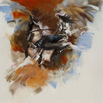 Painting - Classic Rodeo 7 by Maryam Mughal