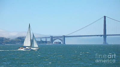 Photograph - Classic San Francisco Bay by Connie Fox
