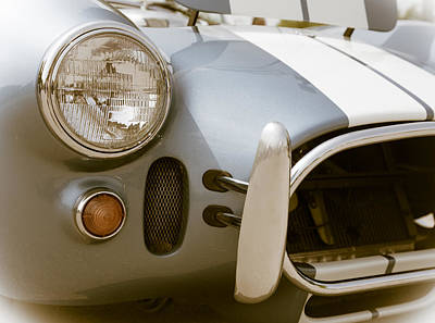 Sports Royalty-Free and Rights-Managed Images - Classic sports car by Alexey Stiop