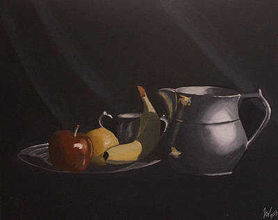 Pitcher Drawing - Classic Still-life by Jason Welter