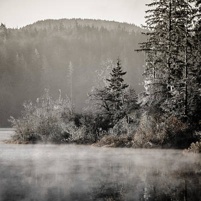 Photograph - Classic Sunrise At Fairy Lake by Roxy Hurtubise