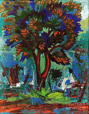 Painting - Classic Tree 2 by Genevieve Esson