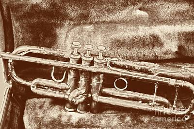 Photograph - Classic Trumpet by Mark McReynolds