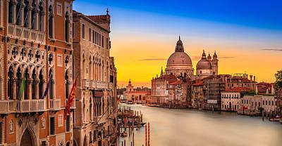 Long Street Digital Art - Classic Venice by Jakob Noc