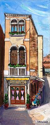 Painting - Classic Venice by TM Gand