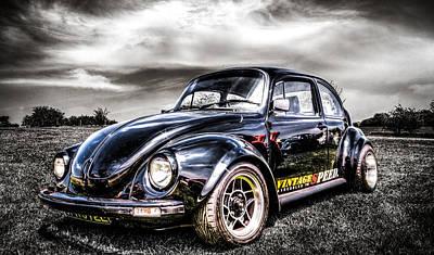 Volkswagen Beetle Photograph - Classic Vw Beetle by Ian Hufton