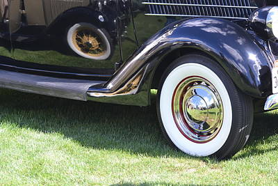 Classic Wheels Art Print