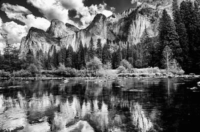 Yosemite California Photograph - Classic Yosemite by Cat Connor
