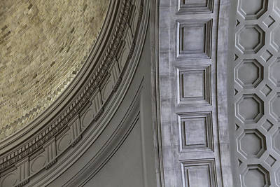 Classical Dome And Vault Details Art Print by Lynn Palmer