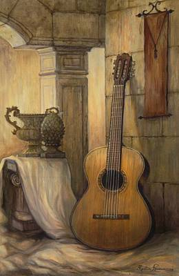 Old World Still Life Painting - Classical Dream by Martin Lacasse