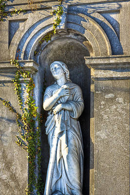 Irish Photograph - Classical Lady Of Glasnevin Dublin by Mark E Tisdale