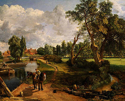 Painting - Classical Landscape by Celestial Images