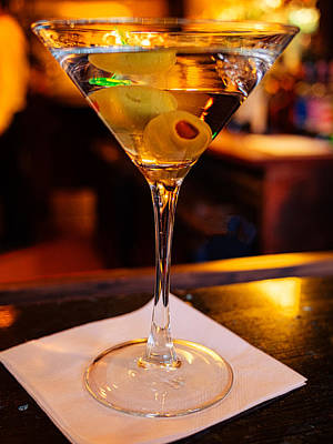 Martini Royalty-Free and Rights-Managed Images - Classical Martini by David Kay