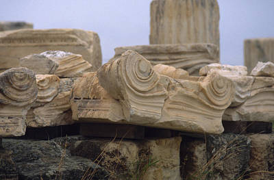 Photograph - Classical Ruins by Mark Greenberg