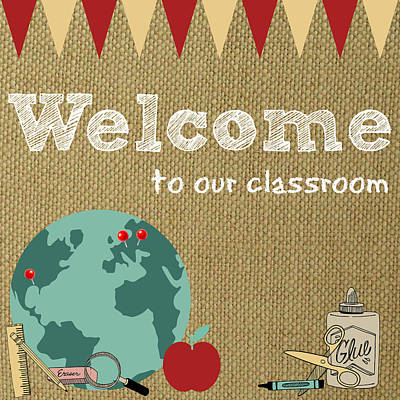 Katharine Hepburn - Classroom Welcome Sign by Southern Tradition