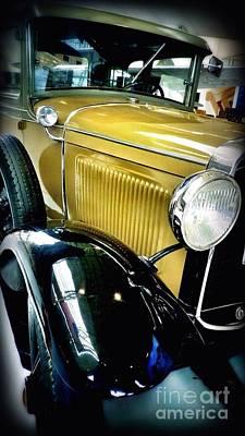 Photograph - Classy Car by Susan Garren