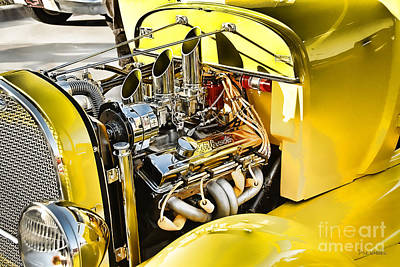 Photograph - Classy Chassis by Dyle   Warren