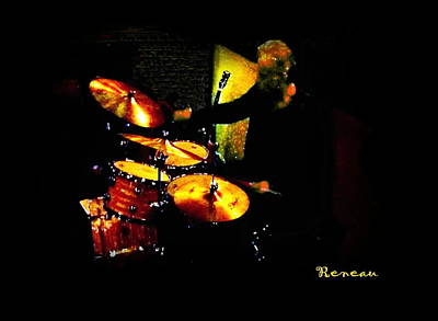 Photograph - Classy Drummer by Sadie Reneau