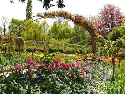 Landscape Photograph - Claude Monet's Garden by Alex Cassels