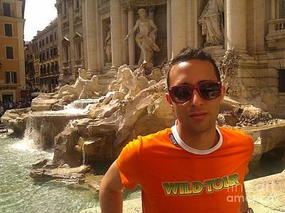Photograph - Claudio In Rome by Ted Williams