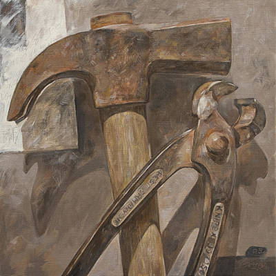 Clawhammer 2 Art Print by Anke Classen