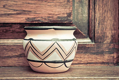 Souq Photograph - Clay Pot by Tom Gowanlock