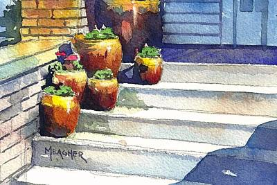 Clay Pots Art Print by Spencer Meagher