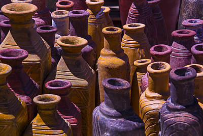 Clay Vases Art Print by Garry Gay