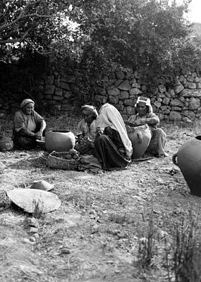 Photograph - Clay Women by Munir Alawi