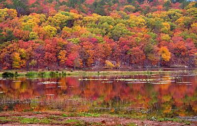 Clayton Lake Dawn Original by Carolyn Fletcher