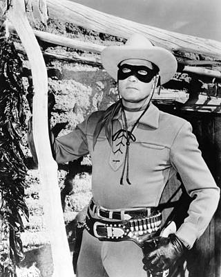 Moore Photograph - Clayton Moore by Silver Screen