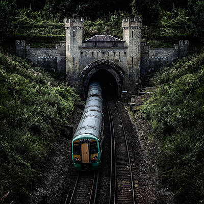 Clayton Tunnel Art Print by Chris Lord