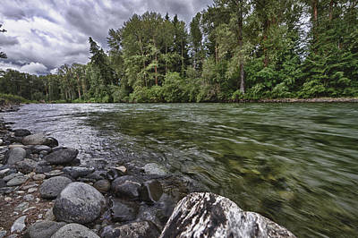 Photograph - Cle Elum River by Chris Reed