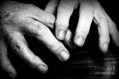 Mental Health Art Photograph - Clean Hands by Clare Bevan
