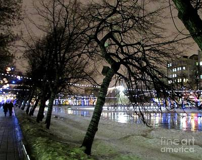 Photograph - Clean Ponds In Moscow 2 by Anna Yurasovsky