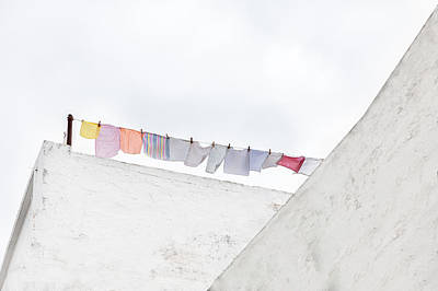 Laundry Photograph - Clean Stuff by Emilio Pino